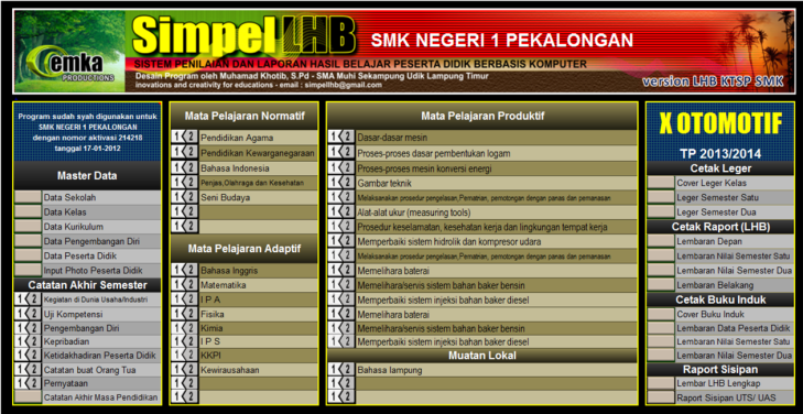 Banner LHB SMK