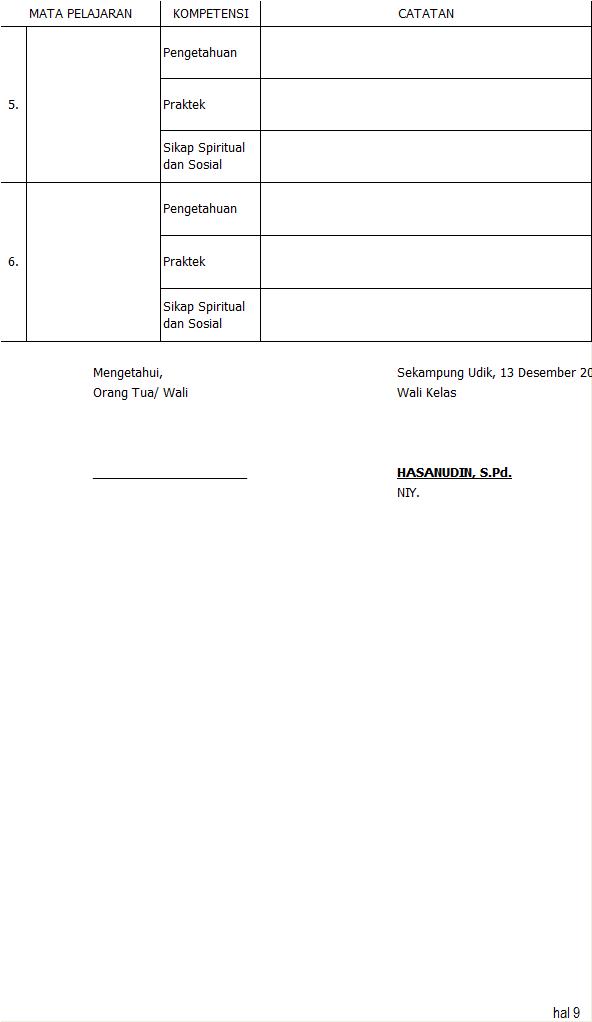 Simpel LCK SMP Nilai 5