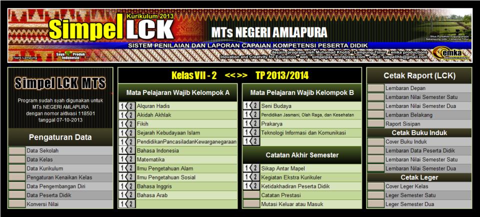 Simpel LCK MTs